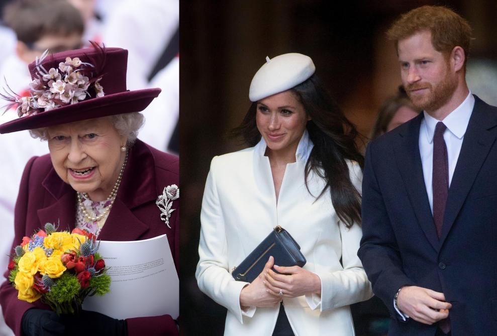 Le communiqué de la Reine. La reine Elizabeth II