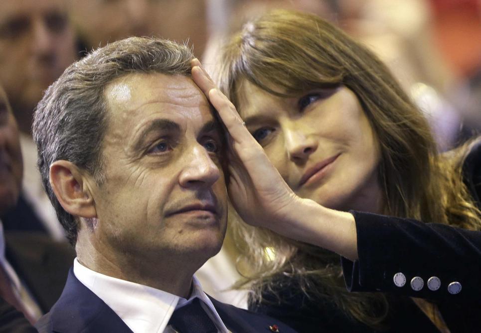 Carla à Nicolas: