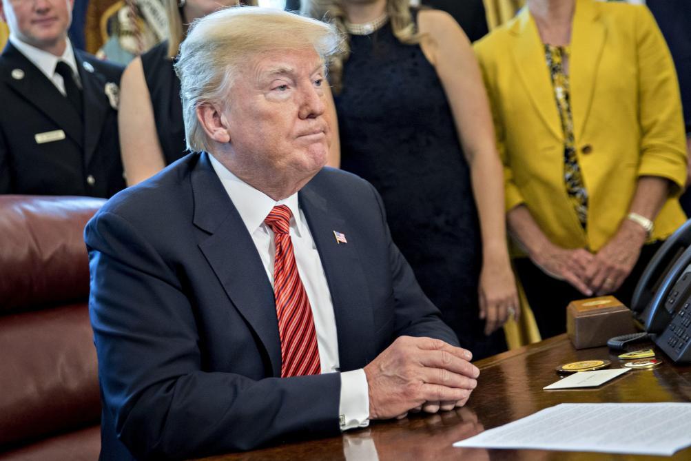 Une statue peu flatteuse de Trump vendue pour une somme faramineuse