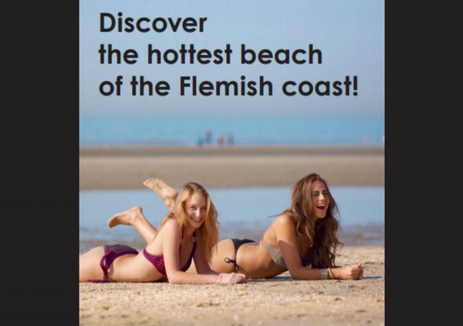 «Les plages les plus chaudes de la côte flamande», la publicité polémique de La Panne