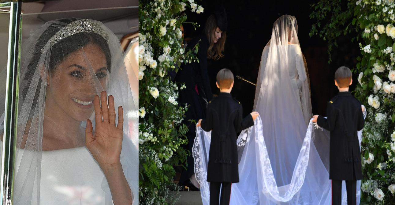 La Robe De Meghan Markle A Ete Creee Par Givenchy Photos