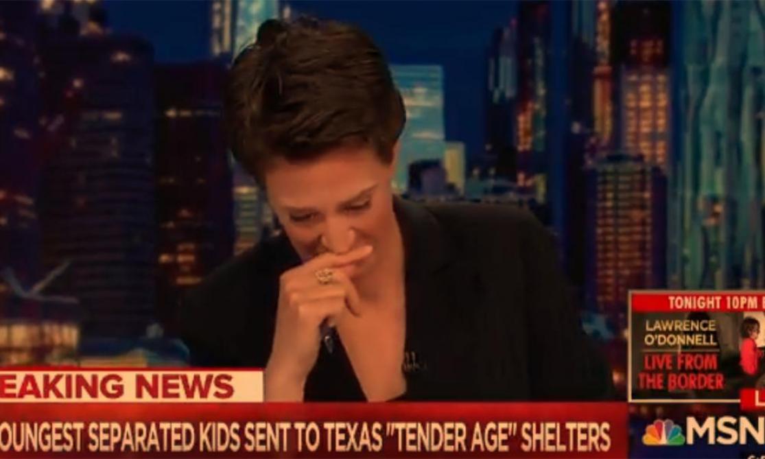 Enfants migrants : une journaliste fond en larmes en direct à la télé