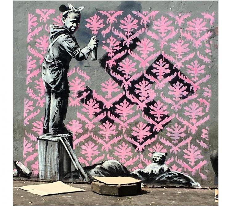 Banksy met les réseaux sociaux et les Parisiens en émoi — Street art