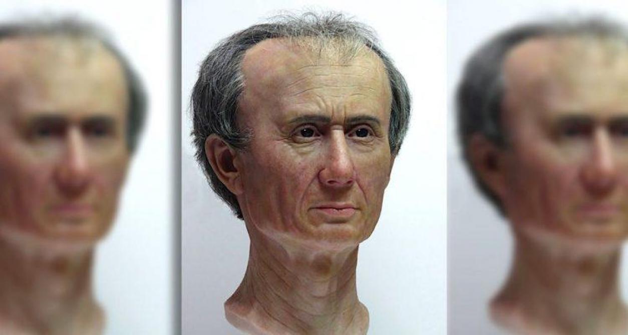Des archéologues recréent le visage de Jules César en 3D
