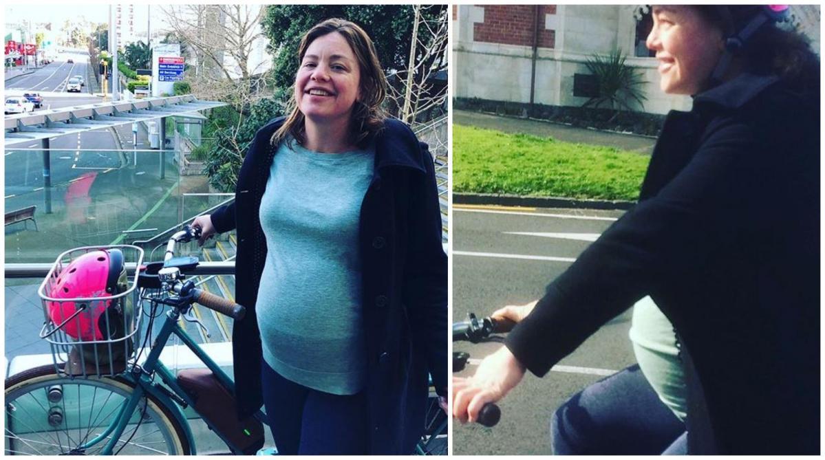 Une ministre écologiste se rend à son accouchement à vélo — Nouvelle-Zélande