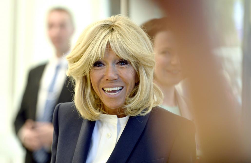 Vidéo. Brigitte Macron sera samedi dans la série