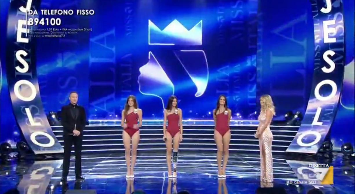 Insultée, une jeune femme handicapée termine parmi les finalistes — Miss Italie