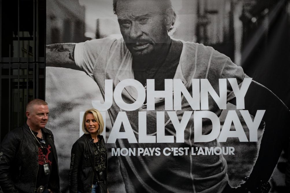 Dans son album posthume, Johnny Hallyday évoque sa propre mort sans détour
