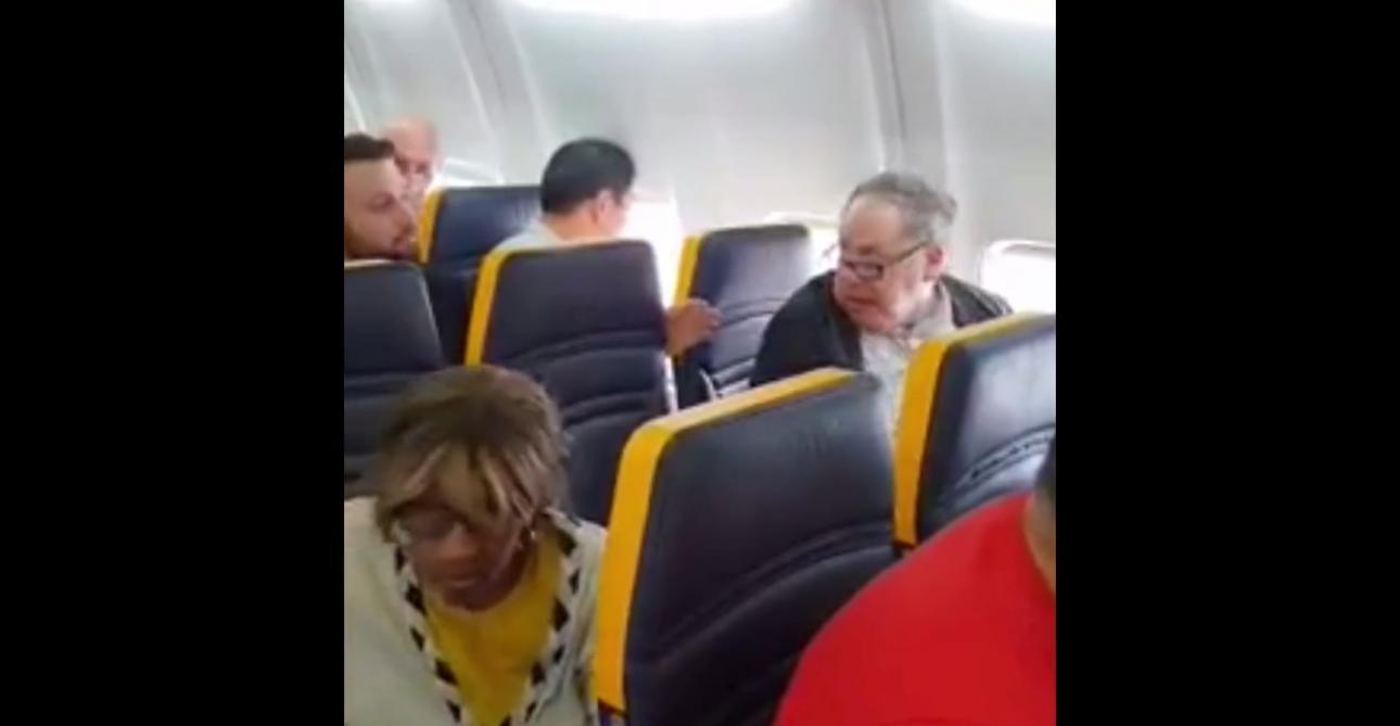 Scandaleux : ce passager Ryanair trouve