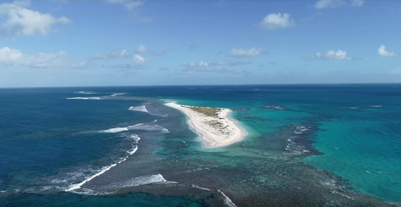 Une île rayée de la carte par un ouragan — Hawaï