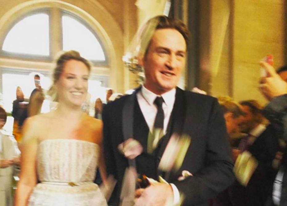 En toute discretion, Benoît Magimel s'est marié