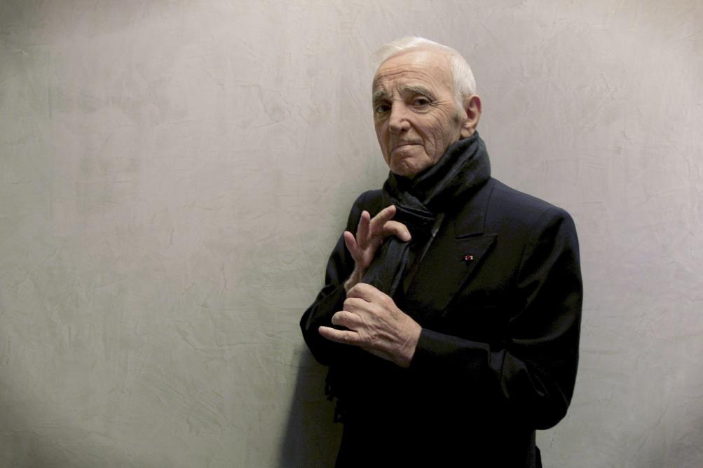 Charles Aznavour avait déjà enregistré quelques titres pour un nouvel album