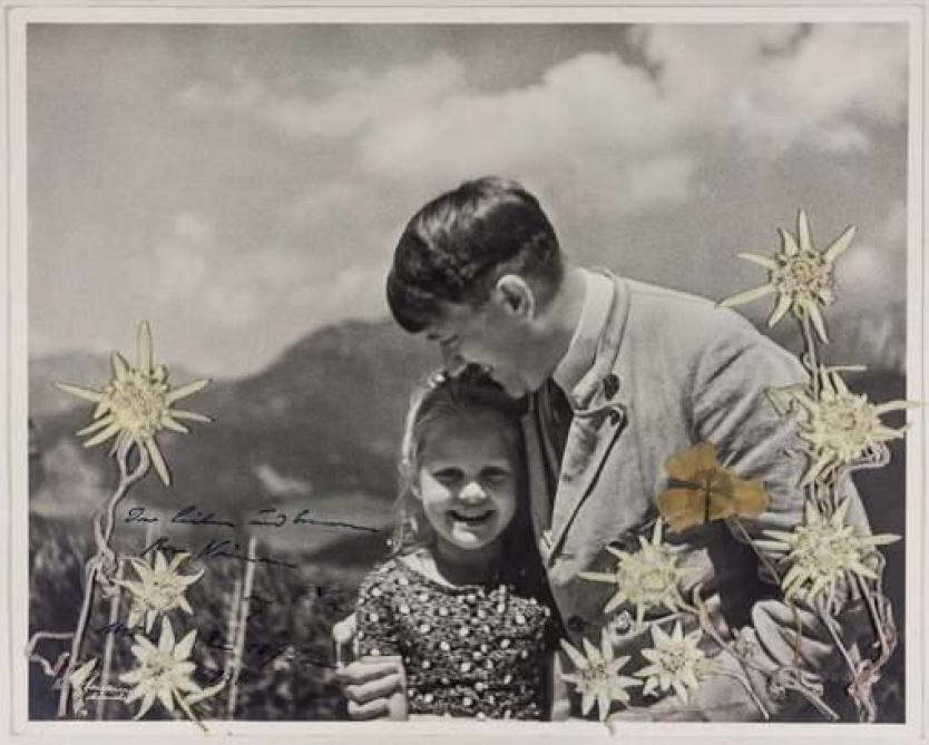 La relation incroyable d'Hitler avec cette petite fille juive