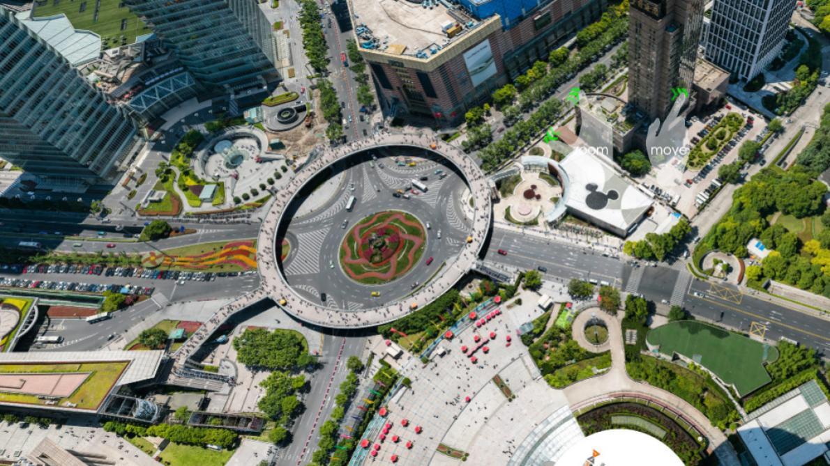 Un impressionnant cliché de Shanghai atteint 195 milliards de pixels