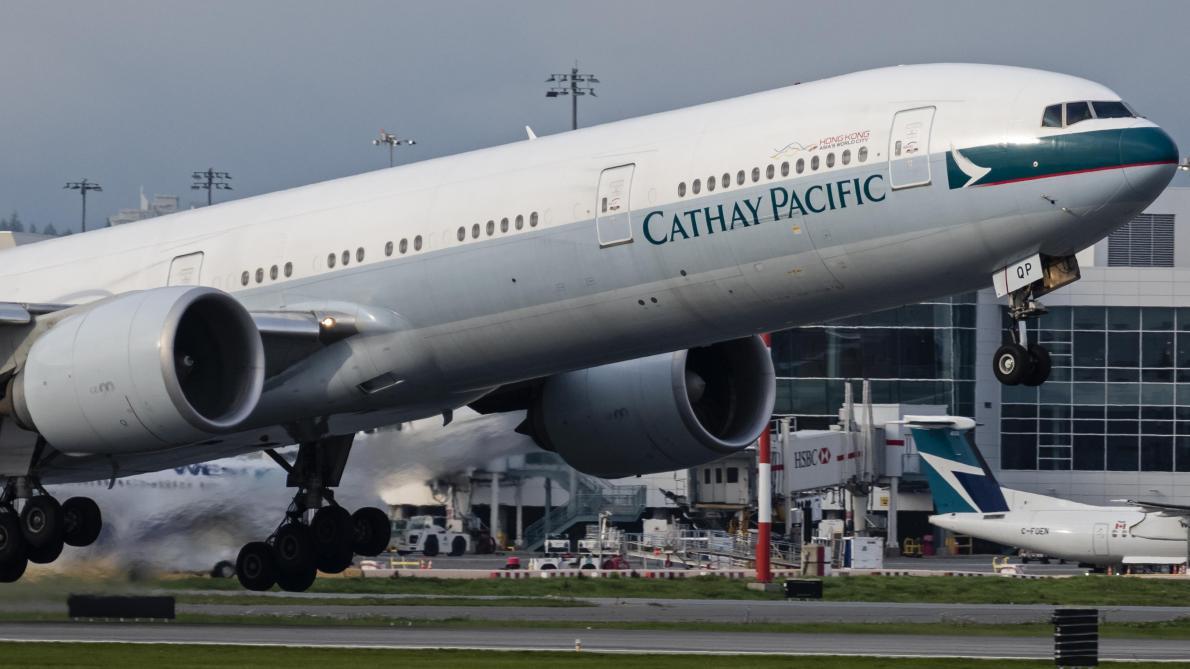 L'énorme bourde d'une compagnie aérienne — Hong Kong