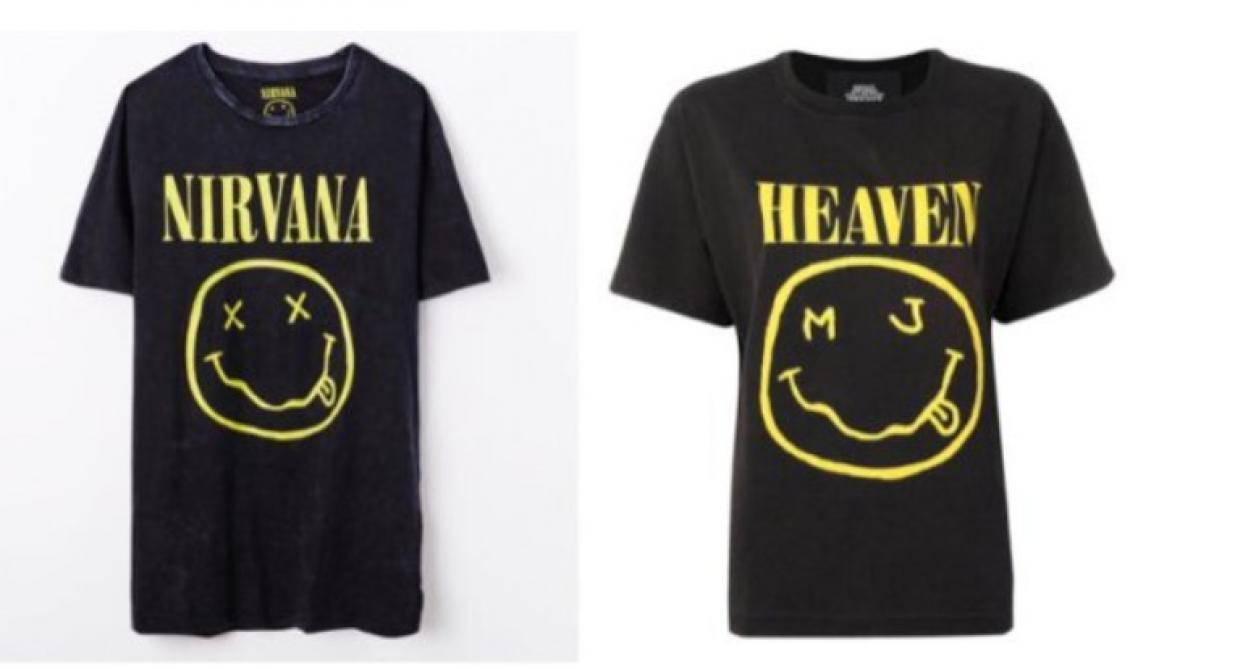 Nirvana poursuit le couturier Marc Jacobs pour violation du droit d'auteur