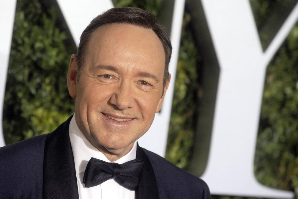 Kevin Spacey officiellement accusé d'agression sexuelle