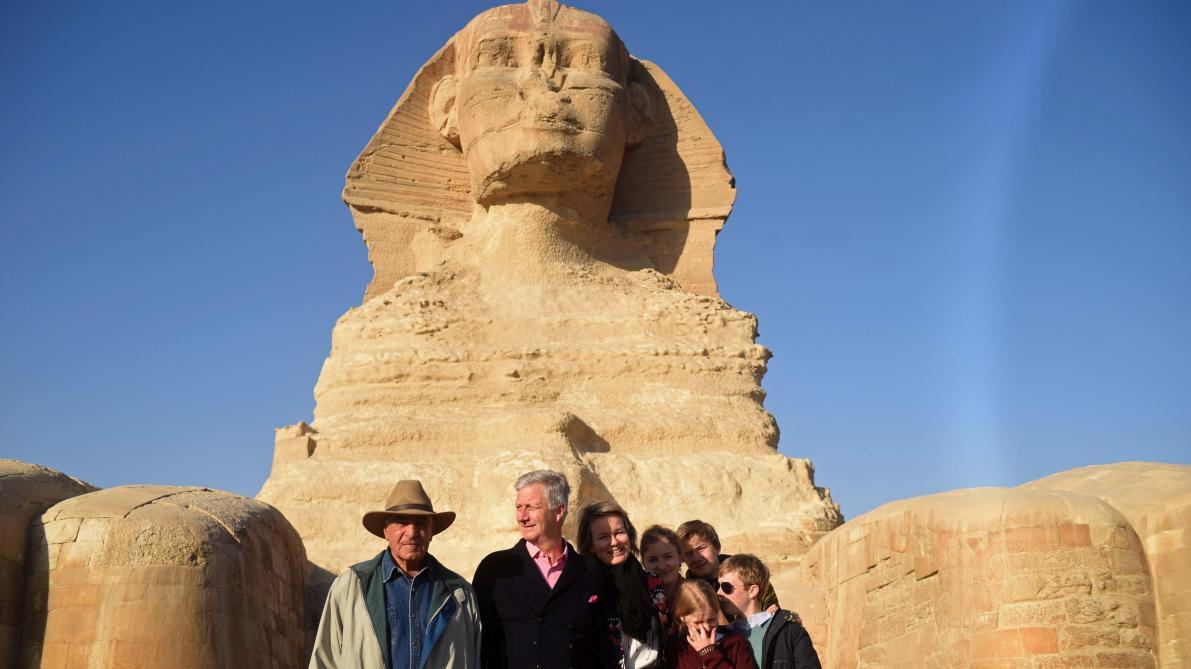 Égypte: le Roi et la Reine au pays des Pharaons