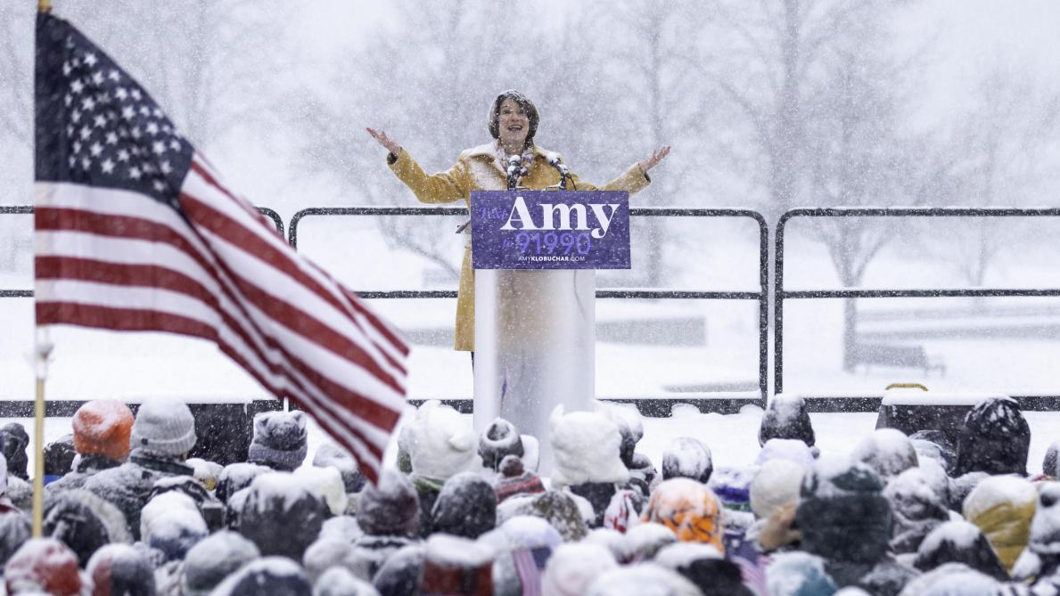 Amy Klobuchar, une nouvelle femme démocrate se lance dans les primaires