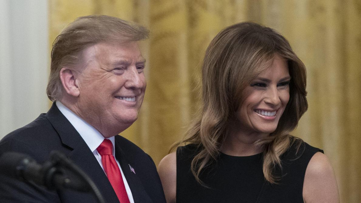 Affaire de la Fausse Melania : Donald Trump fustige les fake news