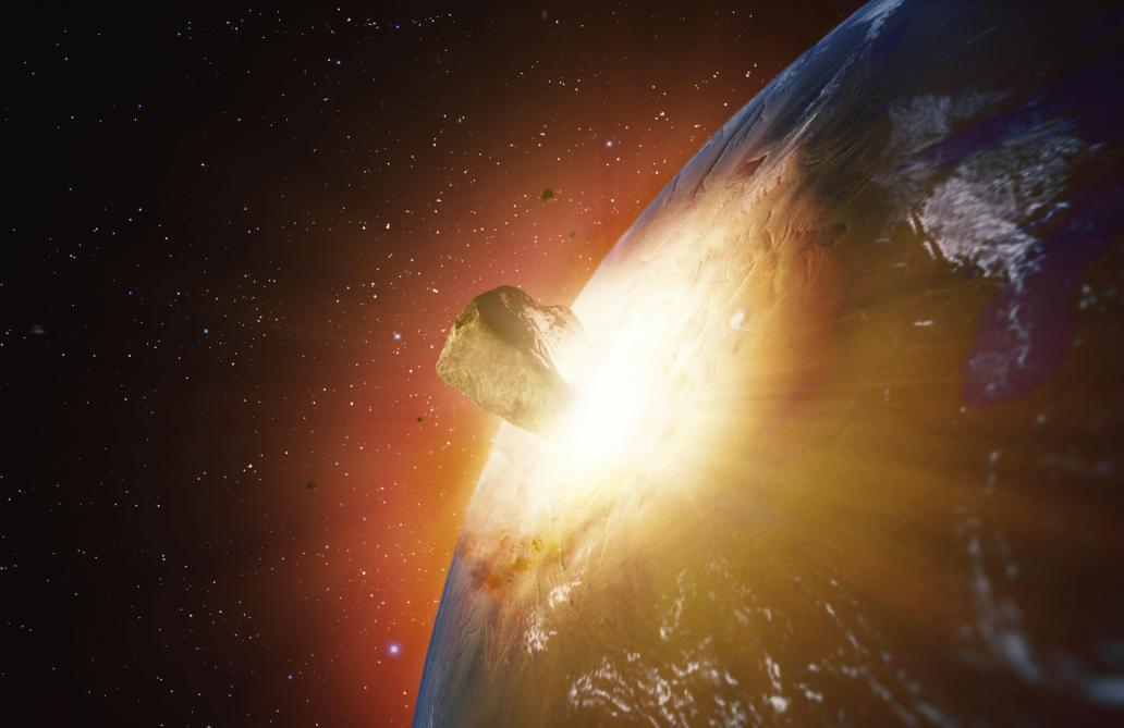 Une énorme explosion de météorite a eu lieu en décembre et la NASA ne la détecte que maintenant