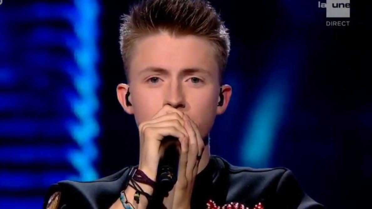 The Voice: Eliot a chanté pour la première fois sa chanson pour l'Eurovision (vidéo)