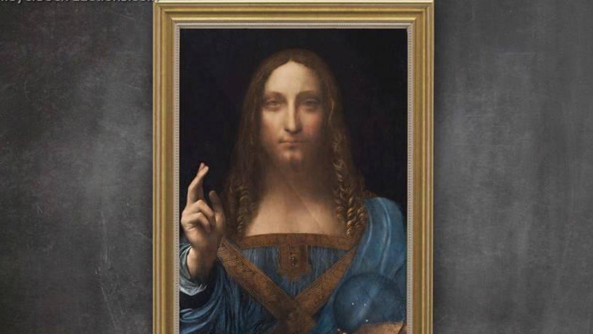 Le tableau le plus cher du monde, le «Salvator Mundi» de Leonard de Vinci, a disparu (vidéo ...