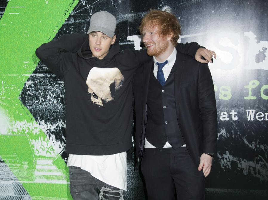 Ed Sheeran et Justin Bieber ont posté leur nouveau duo
