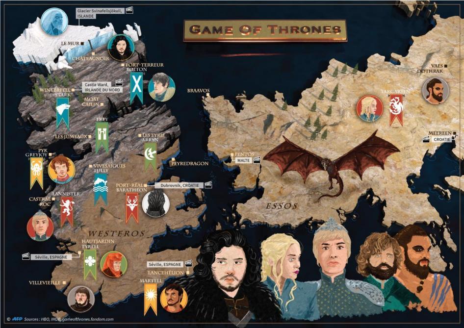 Game Of Thrones Decouvrez L Evolution Des Personnages Entre La Saison 1 Et La Saison 8 Photos Soirmag
