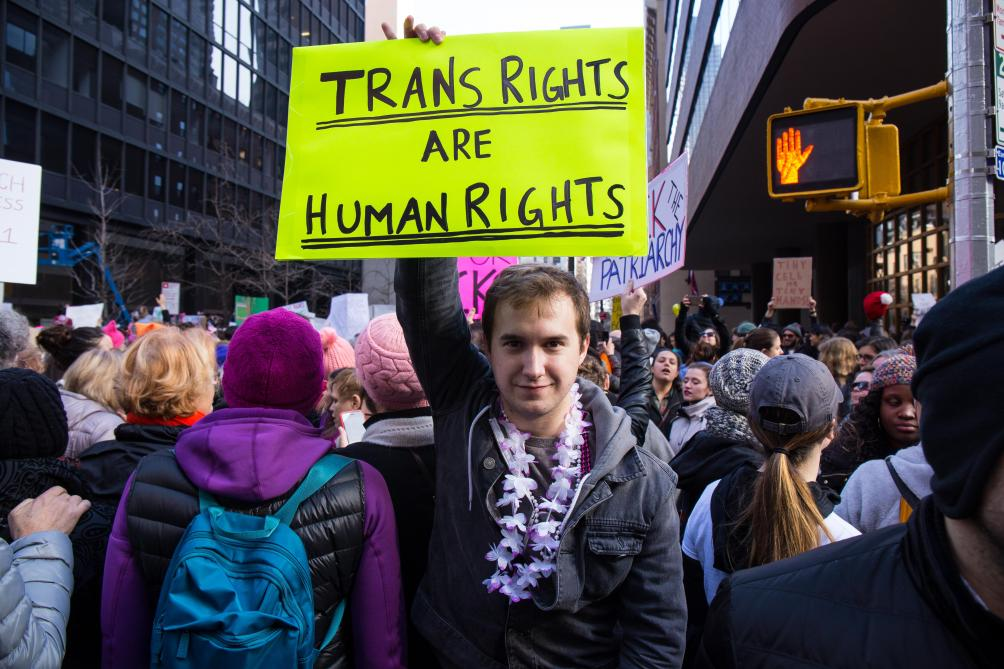 Transgenre n'est plus un trouble mental