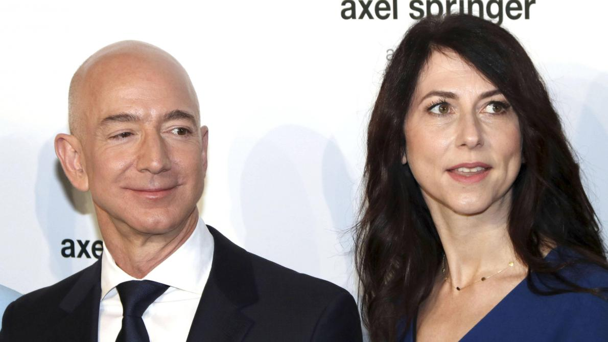 Le patron d'Amazon, Jeff Bezos, finalise son divorce à 38 milliards