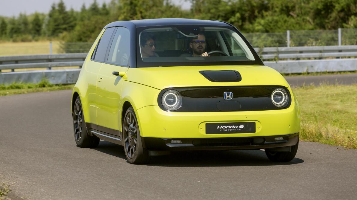 Test auto: la Honda «e» Prototype, prends garde, Mini! (vidéo)