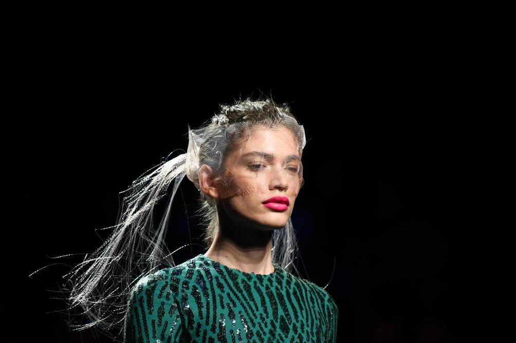 Valentina Sampaio, première mannequin transgenre de la marque Victoria's Secret