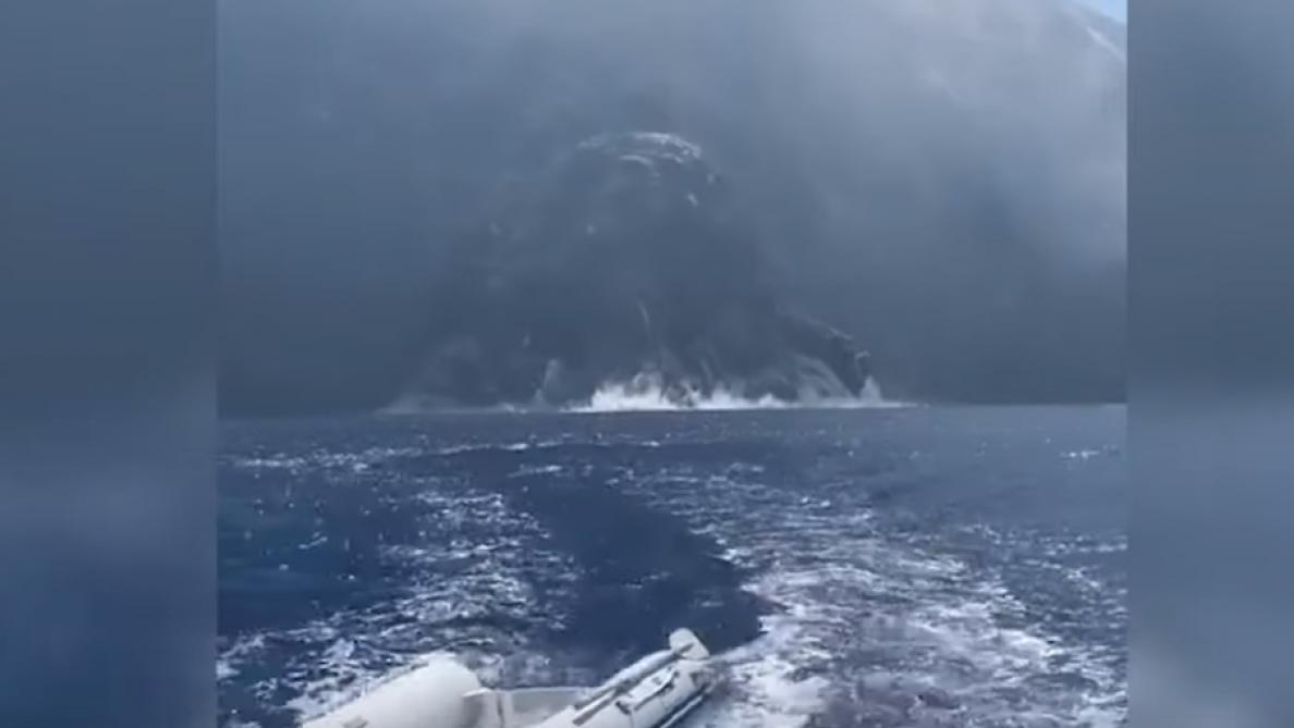Les impressionnantes images de l'éruption du Stromboli — Italie