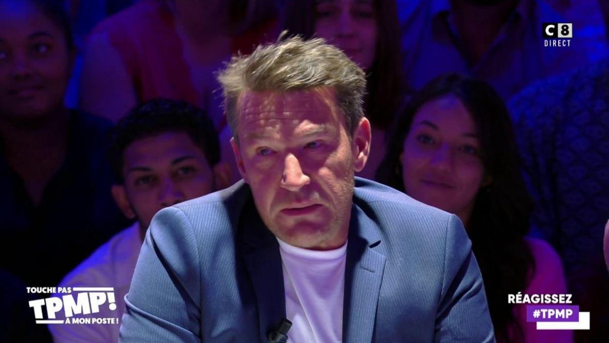 En larmes, Benjamin Castaldi demande pardon à ses enfants — TPMP