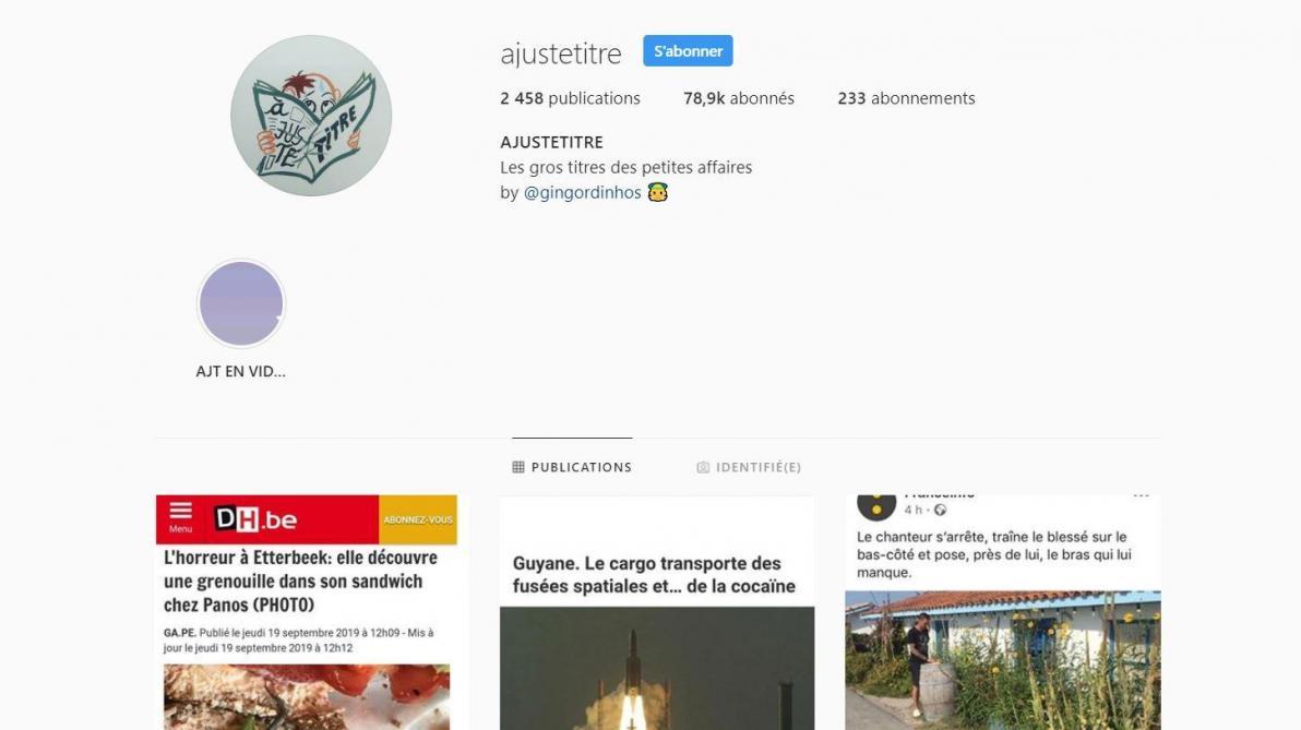 «À juste titre», le compte Instagram qui compile les titres les plus loufoques de la presse francophone (photos)