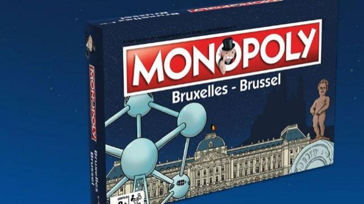 La représentation de Manneken-Pis nu sur les boîtes du Monopoly spécial Bruxelles a été censurée aux États-Unis