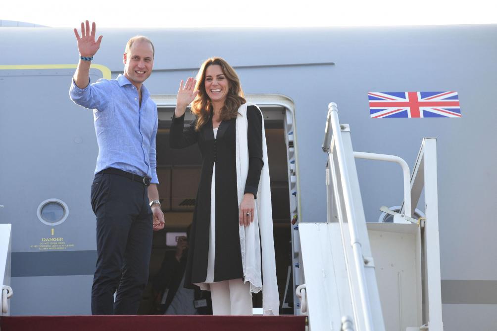 Kate Middleton a posté pour la première fois un message sur Instagram suite à son voyage au Pakistan