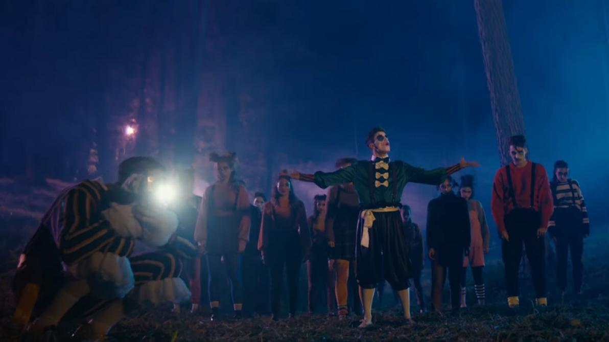 Pour Halloween, Loïc Nottet dévoile «Candy», son premier court-métrage