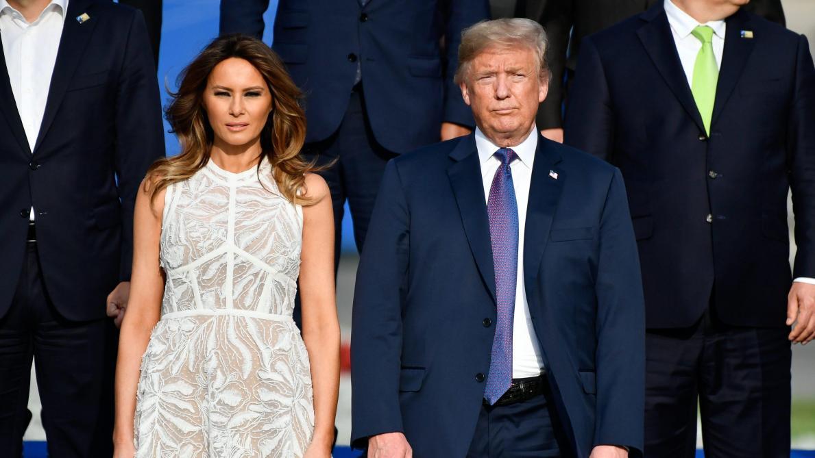 Trump imaginerait que Melania ne pleurerait pas s'il se faisait tirer dessus