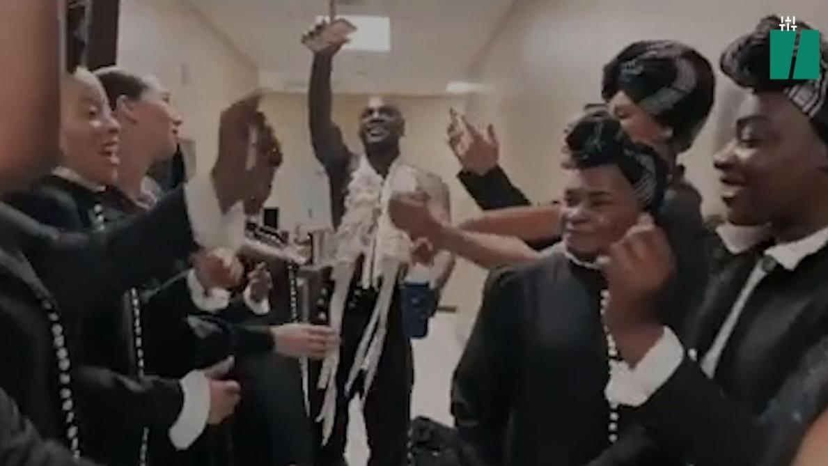 Quand Madonna et son équipe dansent sur