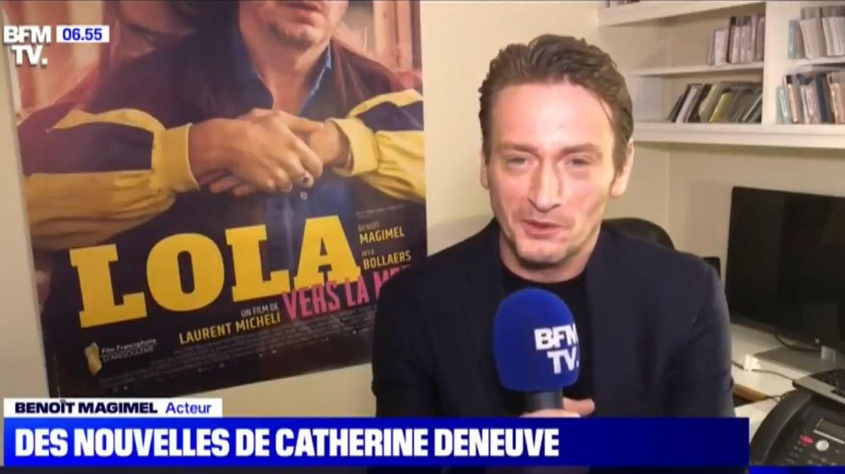 Le tournage du film avec Catherine Deneuve suspendu