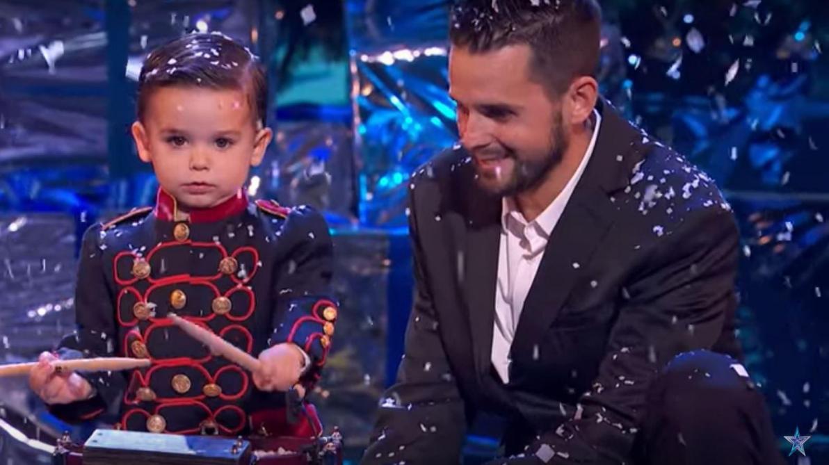 L'édition espagnole remportée par… un enfant de 3 ans — Incroyable Talent