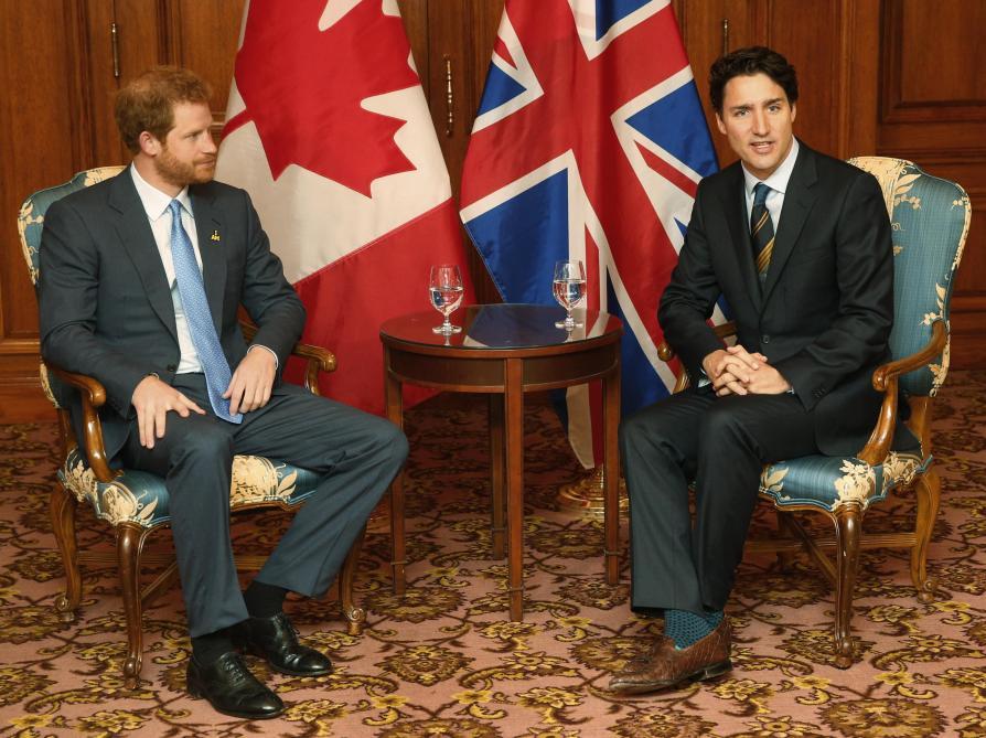 L'accueil d'Harry et Meghan au Canada divise la presse locale : «La réponse de Trudeau devrait être simple :