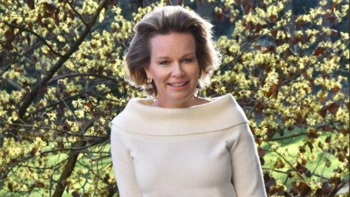 La reine Mathilde fête son anniversaire: le Palais royal dévoile une photo inédite pour l'occasion