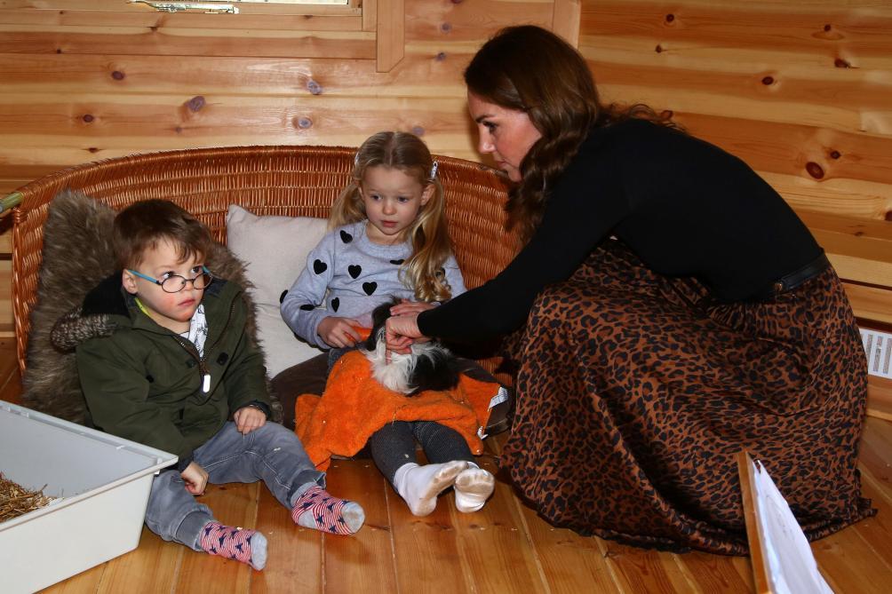 Kate Middleton parle de l'isolement qu'elle a subi à la naissance de George