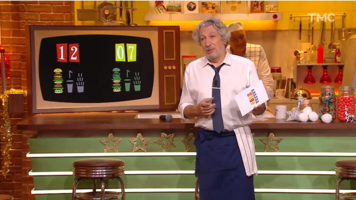 Alain Chabat va quitter l'émission — Burger Quiz