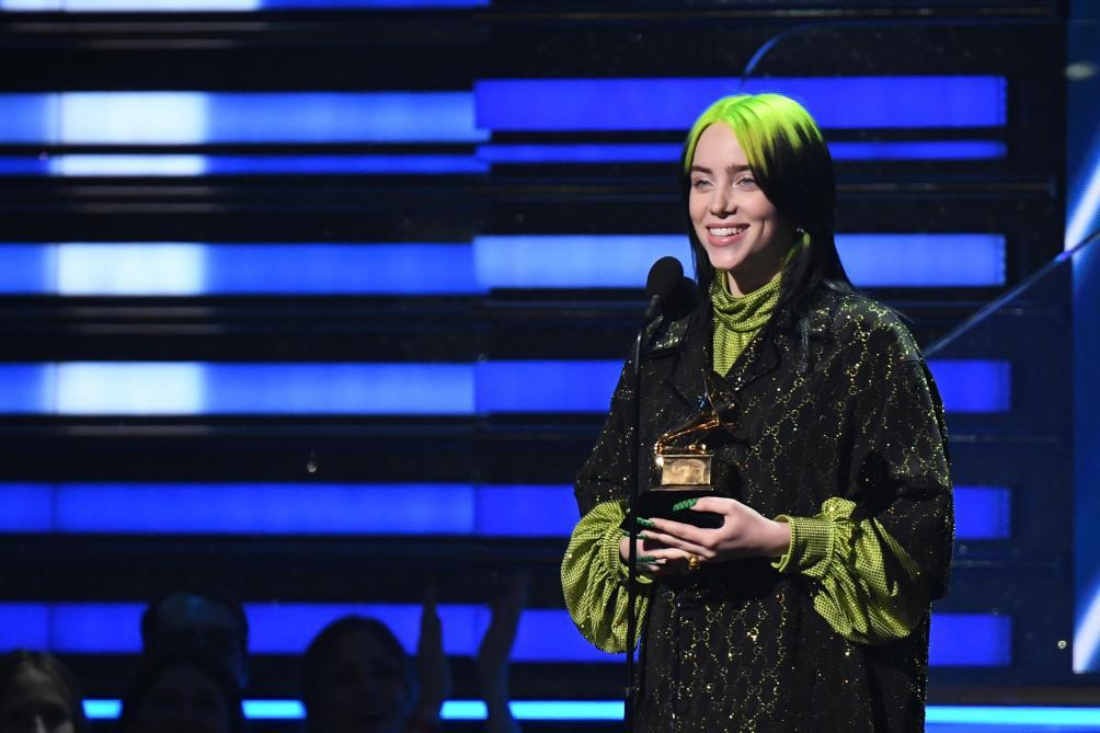 Billie Eilish a dominé les Grammy Awards