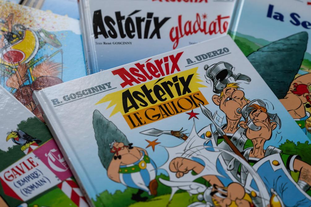 Une aventure d'Astérix signée Goscinny et Uderzo sortira en octobre