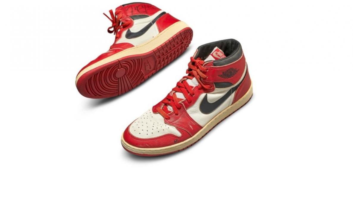 NBA : Une paire portée par Michael Jordan vendue 517 000 euros